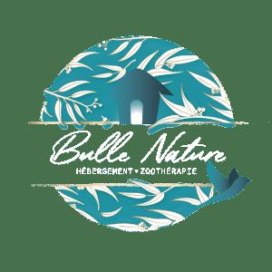 Logo de Bulle Nature en transparence