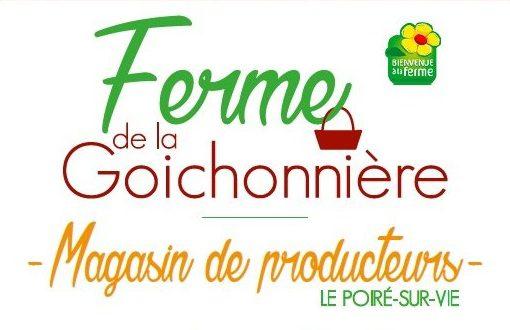 La ferme de la Goichonnière au Poiré sur Vie suggéré par Bulle Nature, sur le site préservé de la Prévisière, au Poiré sur Vie en Vendée